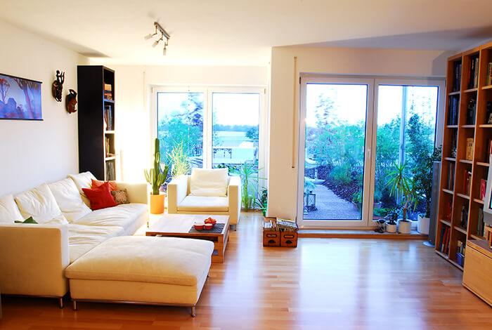 Bauconcept Designhaus - Wohnzimmer